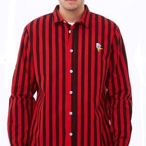 Forever 21 x Disney -Donald Duck Striped Shirt